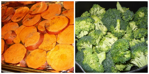Sweet Potatoes & Broccoli